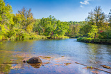 Kettle River in Autumn Reproduction photographique par  Wolterk