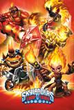 Skylanders Trap Team - Fire Posters