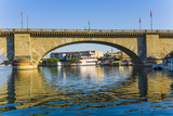 Londn Bridge in Lake Havasu Photographic Print by Jorg Hackemann