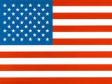 American Flag Art Print Poster Kunstdrucke