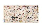 53 Stations of the Tokaido Arte por Kuniyoshi Utagawa