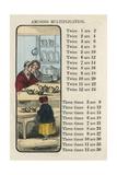 Amusing Multiplication with Toddler in a Store Posters av Charles Butler