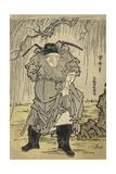 Zhanggui Painted by Sesshu Print by Isoda Koryusai