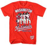 KISS - Washington Nationals Dressed to Kill T-paidat