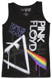 Juniors Tank Top: Pink Floyd - Dark Side Graffiti Womens Tank Tops