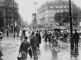 Potsdamer Platz Fotografisk tryk af Hulton Archive