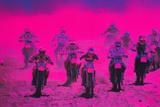 Motocross Racing Reproduction photographique par Harold Wilion