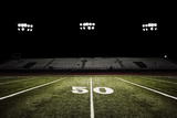 Football Field at Night Photographic Print by Joseph Gareri