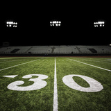 Football Field Fotografisk trykk av  jgareri