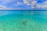 Crystal Clear Water of Barbados Fotografie-Druck von Flavio Vallenari