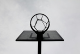 Basketball Hoop Photographic Print by Christoph Hetzmannseder