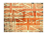 Union Jack Flag Abstract Poster by  prawny