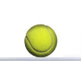 Tennis Ball on White Fotografisk trykk av Adrianna Williams