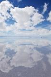Salar De Uyuni, Salt Flat in Bolivia Fotografisk trykk av  zanskar