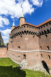 Cracow Barbican - Medieval Fortifcation at City Walls, Poland Photographic Print by Jorg Hackemann
