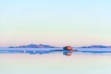 Salt Lake - Salar De Uyuni in Bolivia Fotografisk trykk av  xura
