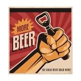 More Beer Kunst af  Lukeruk