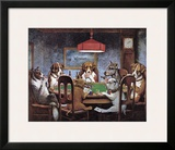 Friend In Need Framed Giclee Print by Cassius Marcellus Coolidge