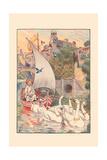 Pleasant Voyage Affischer av H.m. Brock
