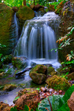 Waterfall Photographic Print by Patti Sullivan Schmidt