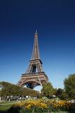 Eiffel Tower, Paris, France Stampa fotografica di  Multi-bits