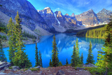 Moraine Lake, Banff, Rocky Mountain, Canada Fotografie-Druck von All Rights By Krishna.Wu