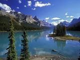 Maligne Lake, Jasper Nationalpark, Canada Impressão fotográfica por Hans Peter Merten
