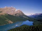 Peyto Lake, Banff Nationalpark, Canada Impressão fotográfica por Hans Peter Merten