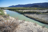 The Rio Grande River at Big Bend Reproduction photographique par Cameron Davidson
