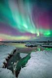 The Colors of Aurora Reproduction photographique par Friðþjófur M.