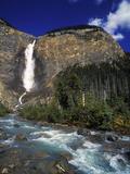 Takkakaw Falls, Yoho Nationalpark, Canada Impressão fotográfica por Hans Peter Merten