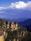 Three Sisters, Blue Mountains, Australia Impressão fotográfica por Hans Peter Merten
