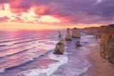 Twelve Apostles,Port Campbell, Australia Fotografie-Druck von Peter Walton Photography