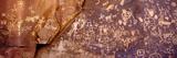 Newspaper Rock Petroglyphs, Utah Fotografisk tryk af Rob Atkins