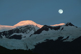 Moon over Glacier, Ak Photographic Print by Kyle Krause