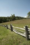 Split Rail Fence, Blue Ridge Parkway, Virginia Reproduction photographique par Cameron Davidson