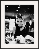 """Audrey Hepburn. """"Breakfast At Tiffany's"""" 1961, Directed by Blake Edwards Framed Photographic Print"""