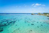 Clear Tropical Water Beach of Coral Lagoon, Japan Photographic Print by Ippei Naoi