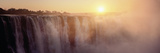 Victoria Falls, Zimbabwe Fotografisk tryk af Ben Cranke