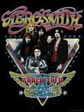 Aerosmith - World Tour 1977 Poster