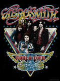 Aerosmith - World Tour 1977 キャンバスプリント