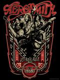 Aerosmith - Let Rock Rule World Tour Poster