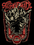 Aerosmith - Let Rock Rule World Tour Poster