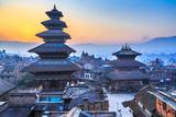 Dawn at Bhaktapur, Nepal Valokuvavedos tekijänä Feng Wei Photography