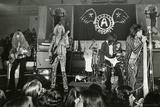 Aerosmith - Aerosmith Tour 1973 (Black and White) キャンバスプリント