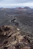 Volcanic Landscape of Timanfaya National Park Impressão fotográfica por Santiago Urquijo