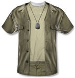 M.A.S.H. - Hawkeye Costume Tee Sublimated