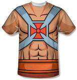 Masters of the Universe - He-Man Costume Tee Sublimated