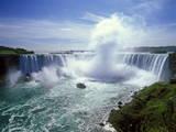 Horseshoe Falls, Niagara Falls, Ontario, Canada Fotografie-Druck von Hans-Peter Merten