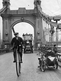 Penny Farthing Photographic Print by Hulton Archive